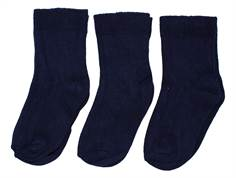 Minipop by Pom Pom Socks navy 3-pack