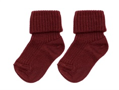 MP socks wool eggplant (2-Pack)