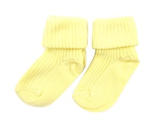 MP socks cotton light yellow (2-Pack)