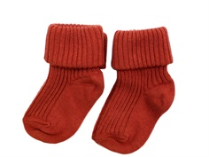 MP socks cotton rusty clay (2-Pack)