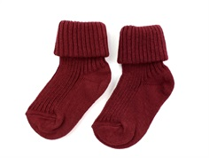 MP socks cotton bordeaux (2-Pack)