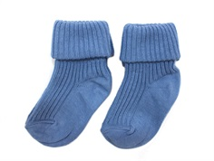 MP socks cotton denim blue (2-Pack)