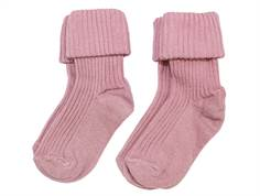 MP socks cotton pink (2-pack)