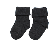 MP socks wool dark gray (2-pack)