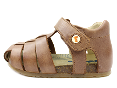 Falcotto by Naturino sandal cuoio with velcro
