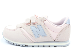New Balance sneaker rose/gray with velcro