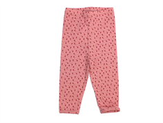 Noa Noa Miniature leggings printed ash rose wool/cotton