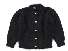 Petit by Sofie Schnoor knit cardigan black glitter