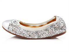 Petit by Sofie Schnoor ballerina silver with glitter