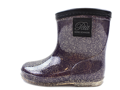 22aff93ab83 Buy Petit by Sofie Schnoor winter rubber boot purple glitter at ...