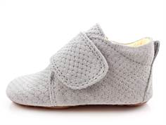 Pom Pom slippers gray crocro