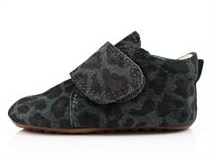 Pom Pom slippers grey leopard