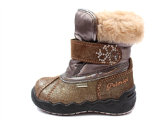 Primigi winter boot cioccolat/taupe with GORE-TEX