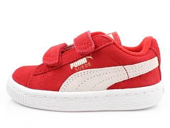 online store 61e33 093fc Puma Suede sneaker high risk red/white