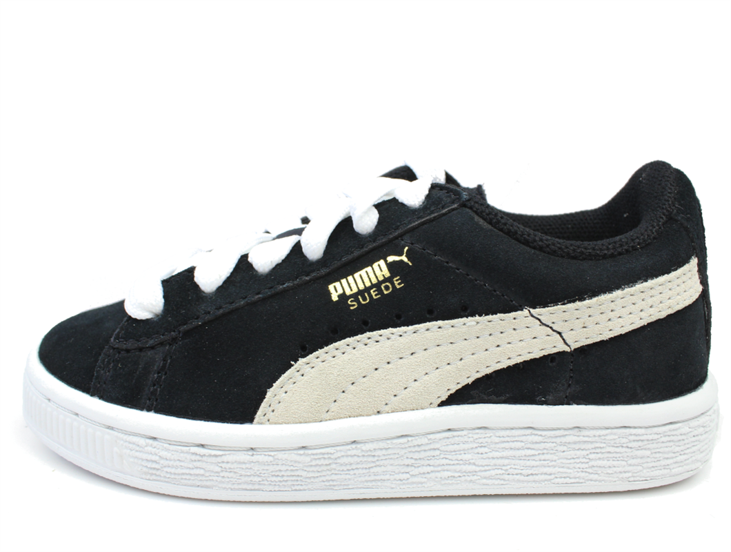buy puma suede sneaker black white at milkywalk. Black Bedroom Furniture Sets. Home Design Ideas