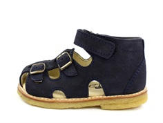 Arauto RAP sandal navy nubuck with buckles and velcro