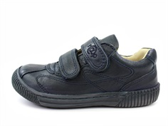 Arauto RAP leather shoes navy with velcro