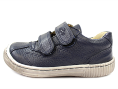Arauto RAP leather shoes float. navy with velcro