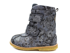 Arauto RAP winter boot flower negro with TEX
