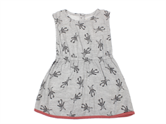 Small Rags dress Grace gray melange