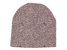 Soft Gallery Beanie silver pink pebbles