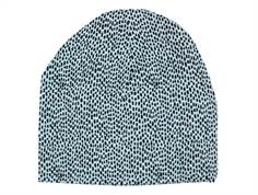 Soft Gallery Beanie sterling blue pebbles