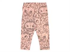 Soft Gallery Paula baby leggings coral owl