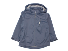 Wheat transition jacket/soft shell jacket Mattis greyblue