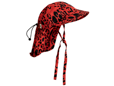 Mini Rodini hat leopard red