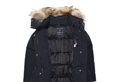 cf4a2002d4f7 Buy Ver de Terre girl winter jacket black eskimo with down at MilkyWalk