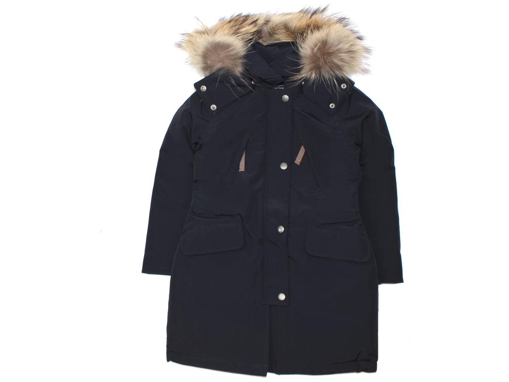 Buy Ver De Terre Girl Winter Jacket Black Eskimo With Down