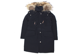 Ver de Terre girl winter jacket black eskimo with down