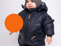 PREORDER Ver de Terre rubber snowsuit spicy orange